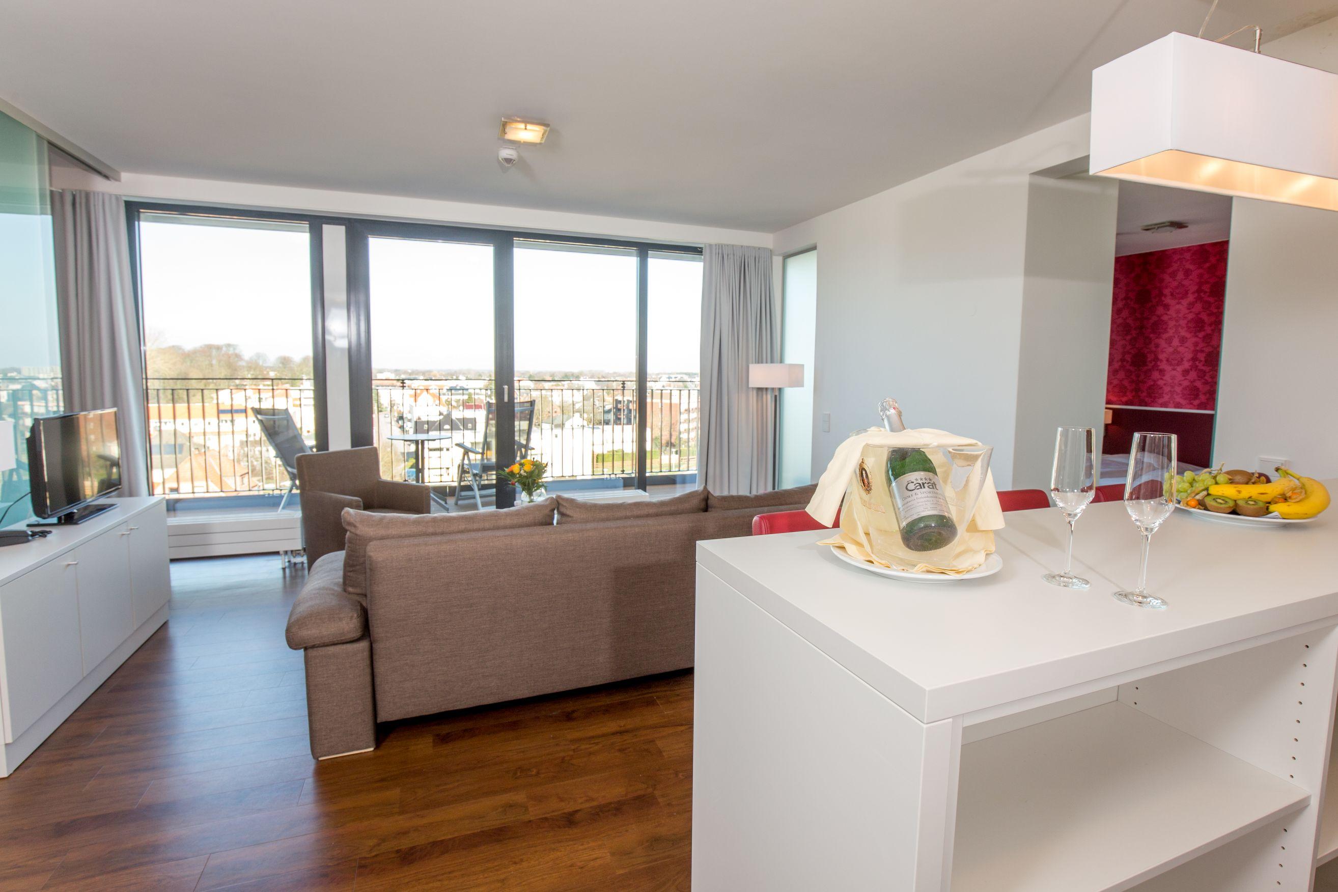 3 zimmer apartments carat residenz. Black Bedroom Furniture Sets. Home Design Ideas