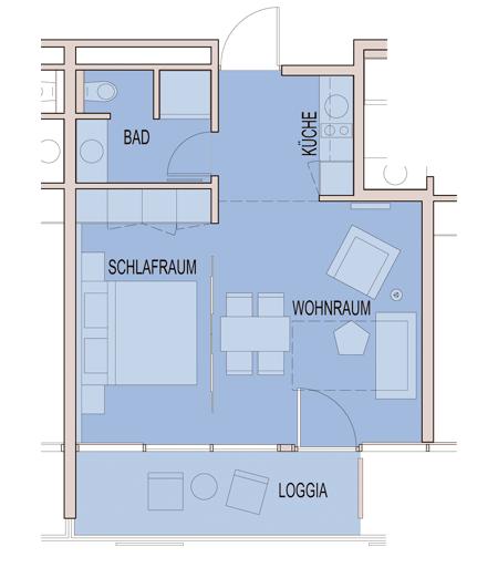 Grundriss Hotelfoyer : Zimmer apartments carat residenz