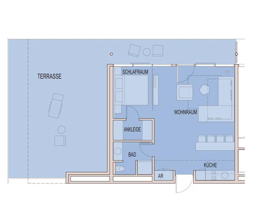 2-room apartments – Carat Residenz
